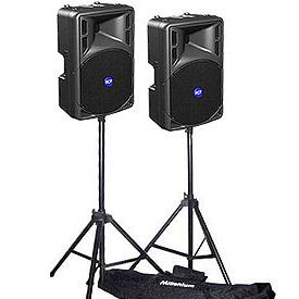 RCF art speaker set 1 - Tot 70 personen